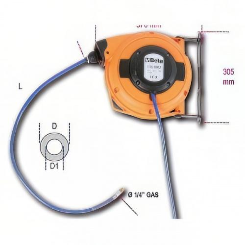 удлинитель автоматический для воздуха 10м - 1