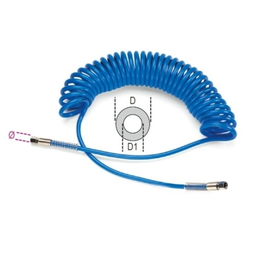 шланг спиральный, разъемы с внутренней резьбой 1/4 BSP, dxD=8х12мм, 9м - 1