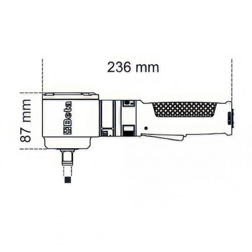 гайковерт ударный компактный, кв.1/2'' до 250Нм - 1