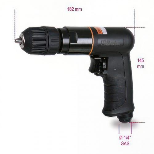 дрель реверсивная, 1-10мм, 1800об/мин - 1