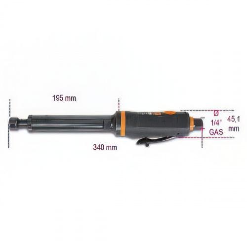 шлифмашинка удлиненная, 3-6мм, 20000об/мин - 1