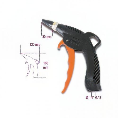 пистолет продувочный с резиновым соплом - 1