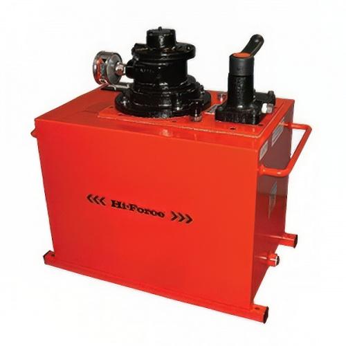 гидростанция пневматическая двухскоростная, 2-линейный клапан, объем 40 л - 1