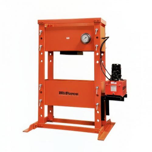 пресс гидравлический напольный 200т, электрический (220В) привод - 1