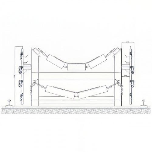 ограждение конвейера полимерное ОКП-20 - 1